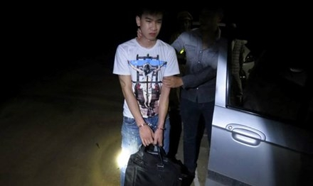 Bắt quả tang Hotboy DJ ở Lạng Sơn buôn ma túy khủng