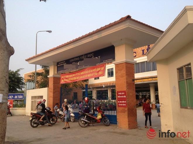 TP.HCM: Thanh niên xăm trổ giả danh người nhà đến đón học sinh